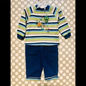 First Impressions - Baby Boy's Outfit